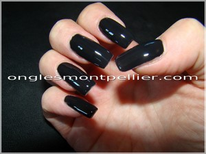 d�co gel noir laqu�