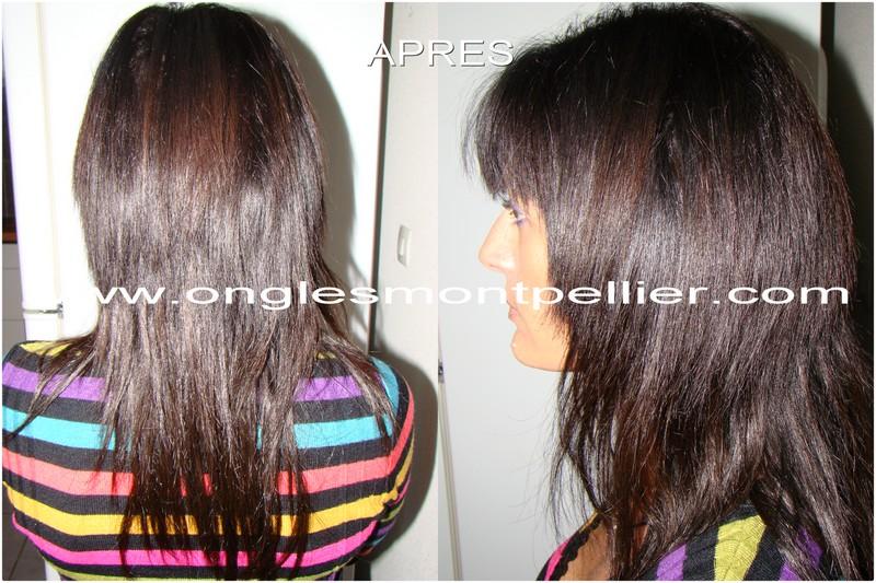 extensions cheveux apres r