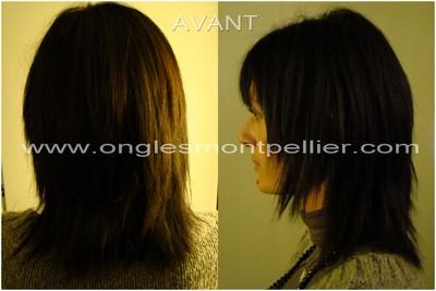 extensions cheveux avant r