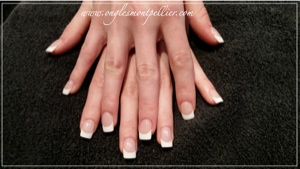 pose gel french blanche soft p