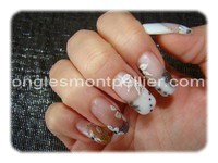 pose faux ongles french et d�co r�duite