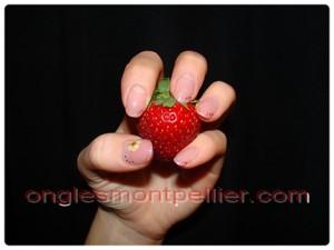 fraise pose naturelle