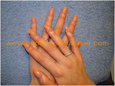 r�sine french orange reduite